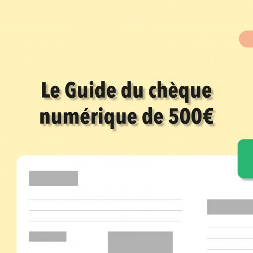 Cheque digital de 500€