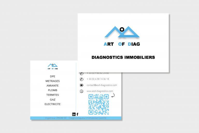 Cartes de visite d'AOD Diagnostics