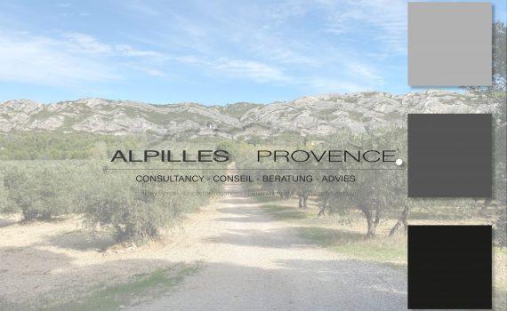 Création de l'identité visuelle d'Alpilles Provence