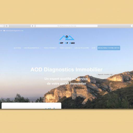 Site Internet AOD Diagnostics
