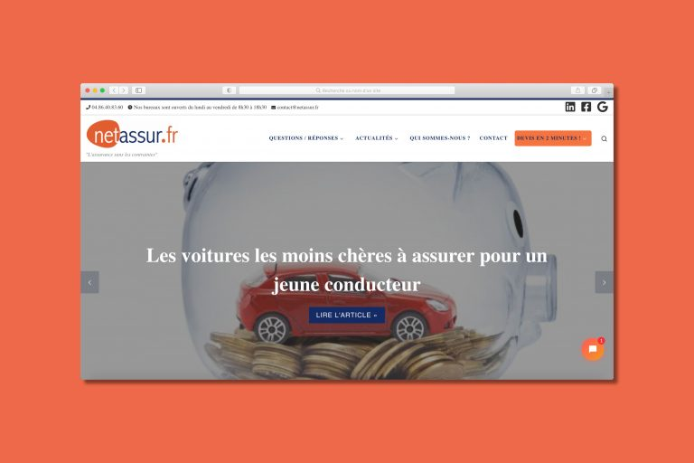 Site internet Netassur