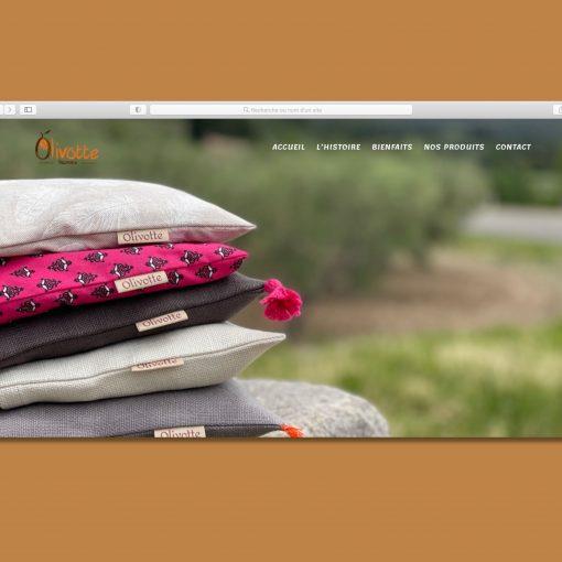 Site internet Olivotte en Provence
