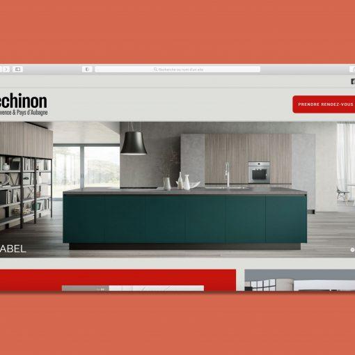 Site internet Zecchinon Provence