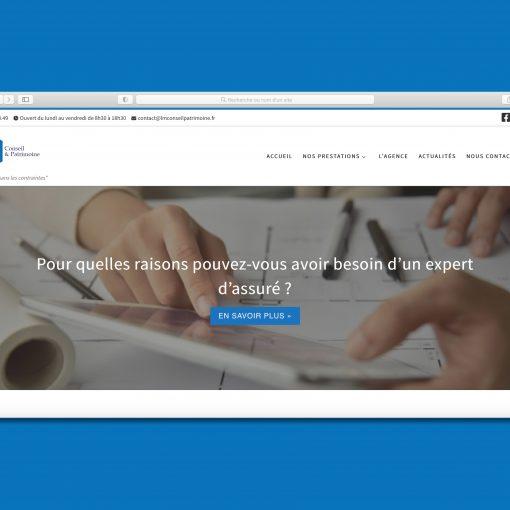 Site internet LM Conseil & Patrimoine