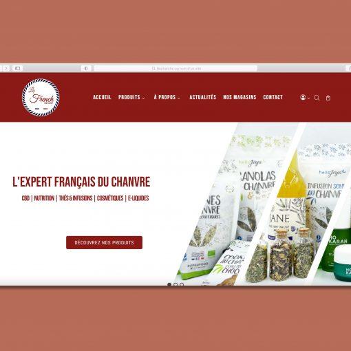 Site Internet La French Hemp Factory